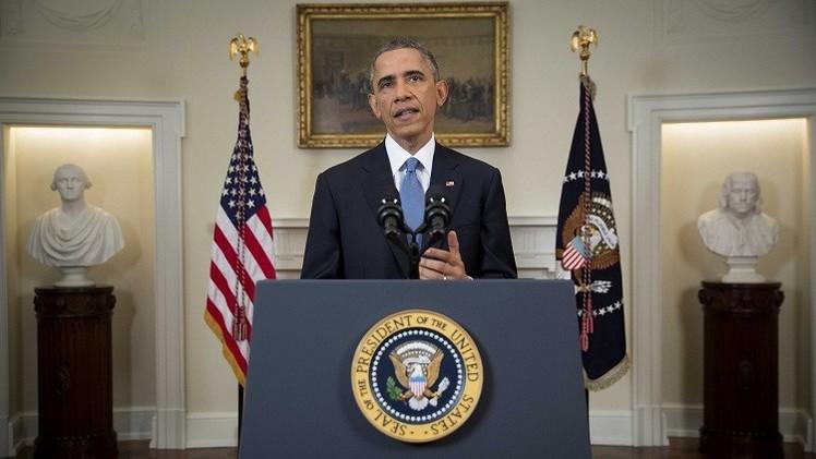أوباما يوقع قانونا يفرض عقوبات على مسؤولين فنزويليين