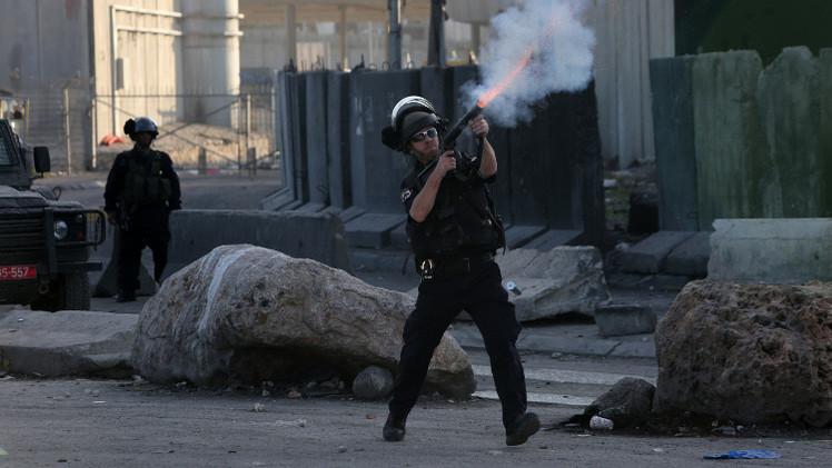 صدامات بين الجيش الإسرائيلي والفلسطينيين في الضفة الغربية