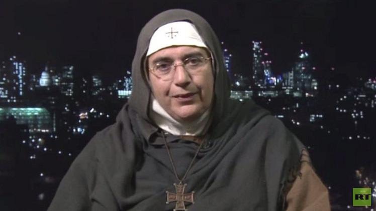 أغنيس مريم الصليب: ما كان لسوريا أن تنجو لولا الدعم الروسي