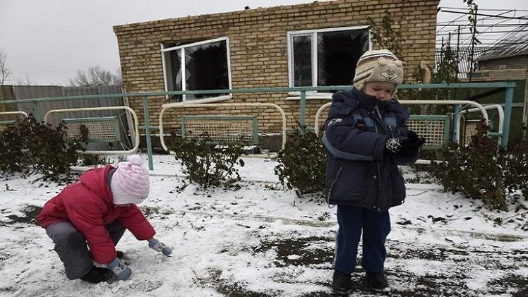 اليونيسيف: الأزمة الأوكرانية حشرت نحو مليوني طفل في ظروف قاسية