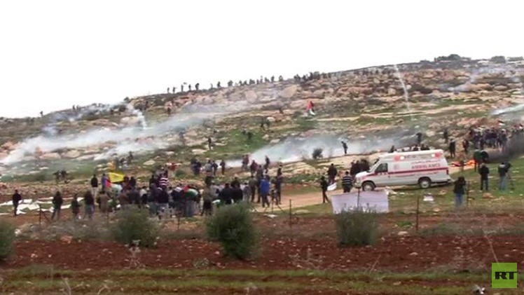اصابات في صفوف الفلسطينيين في مواجهات مع قوات الأمن الإسرئيلي