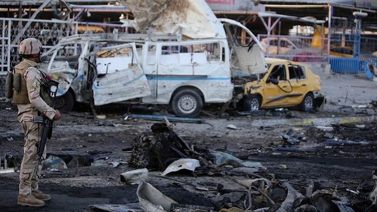 مقتل 10 أشخاص في تفجيرات بضواحي بغداد