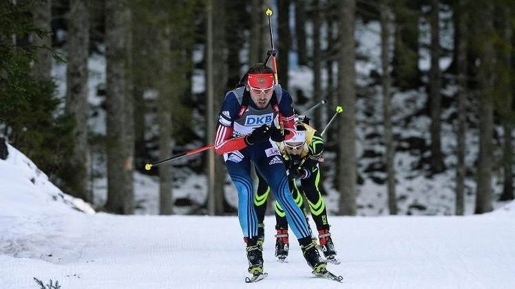 الروسي شيبولين يحرز ذهبية بطولة العالم للبياتلون