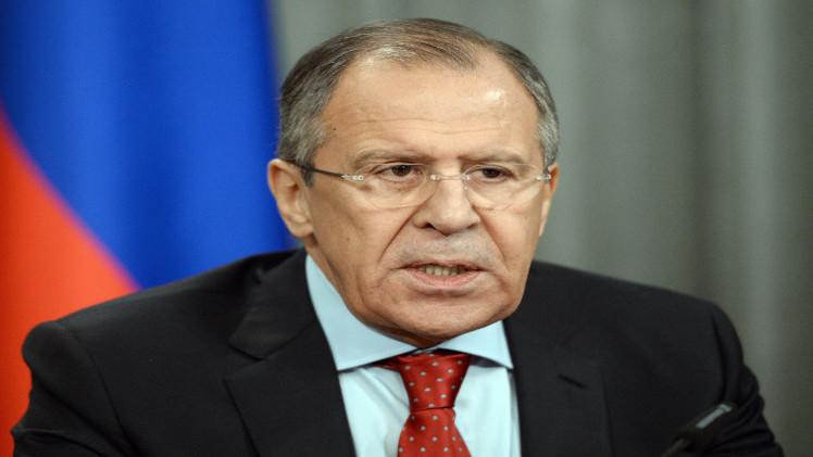 لافروف: نحن قلقون من تعثر عملية السلام بين الفلسطينيين والإسرائيليين