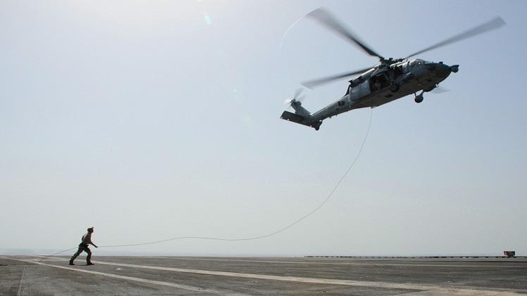 تحطم مروحية أمريكية في الكويت وإصابة 3 من أفراد طاقمها