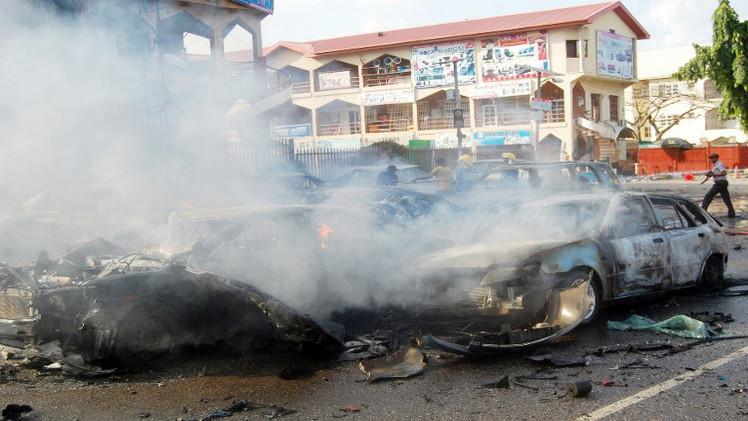 مقتل 20 شخصا على الأقل بانفجار قنبلة شمال نيجيريا
