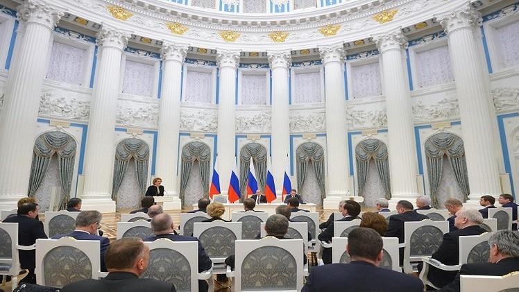 بوتين: تراجع حجم التبادل التجاري مع أوروبا ليس من مصلحة أحد