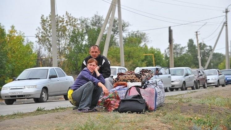 الطوارئ الروسية: 880 ألف لاجئ أوكراني داخل روسيا
