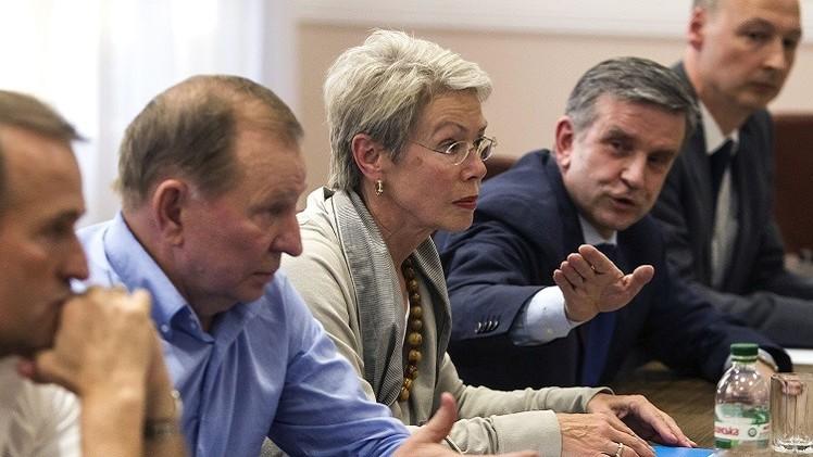 مجموعة الاتصال حول أوكرانيا تنهي جولة مفاوضات في مينسك