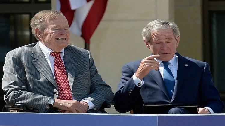 نقل جورج بوش الأب إلى المستشفى