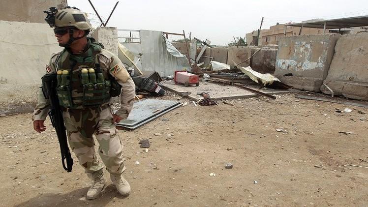 33  قتيلا في تفجير استهدف مقرا للجيش العراقي جنوب بغداد