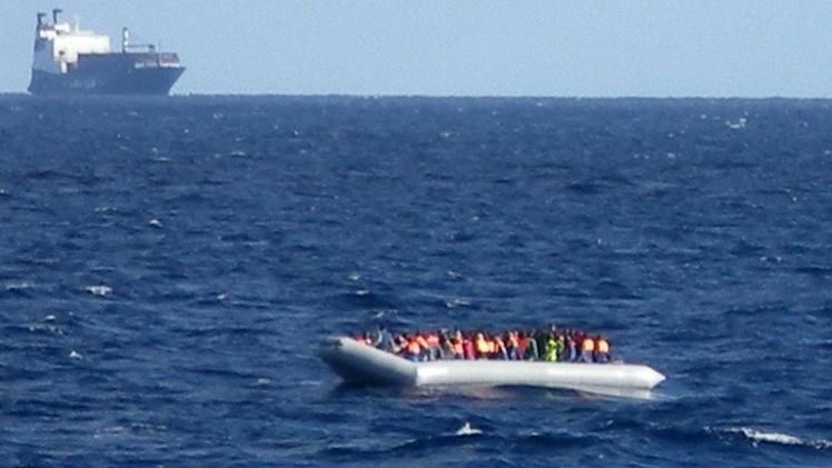 البحرية الإيطالية تنقذ أكثر من ألف مهاجر غير شرعي في يوم واحد