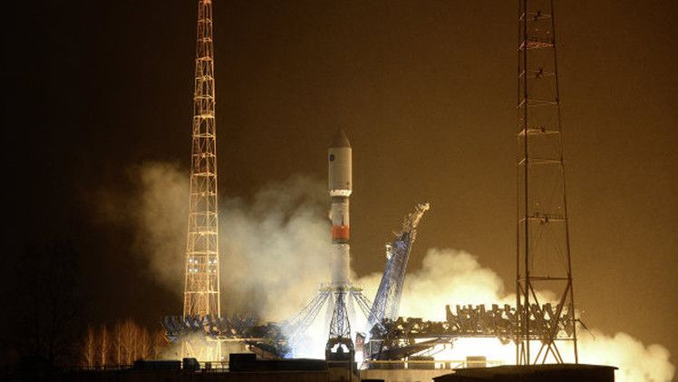روسيا... إطلاق صاروخ