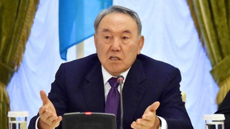 نزارباييف: انعدام الاستقرار والتفاهم الوطني سبب مشاكل أوكرانيا