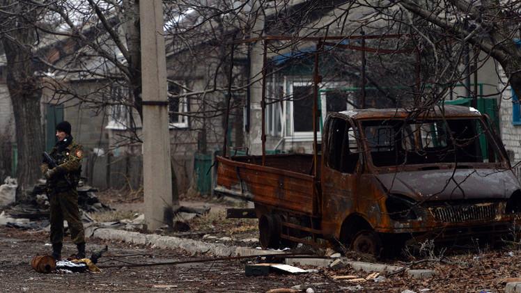 تقرير: سبعة آلاف موقع للبنى التحتية في شرق أوكرانيا مدمرة