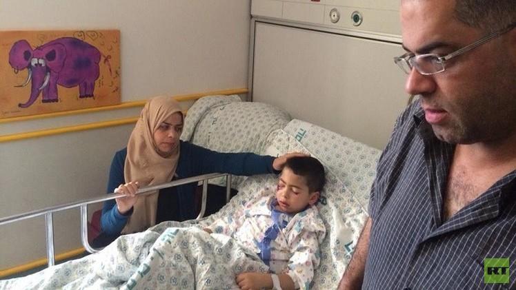 جندي إسرائيلي يصيب طفلا فلسطينيا برصاصة في الوجه
