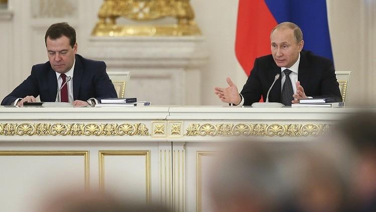 بوتين: الحكومة لن تستمتع بفترة أعياد طويلة