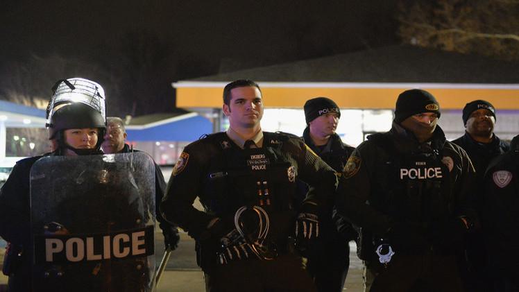 اعتقال محتجين ضد مصرع شاب أسود في ميزوري