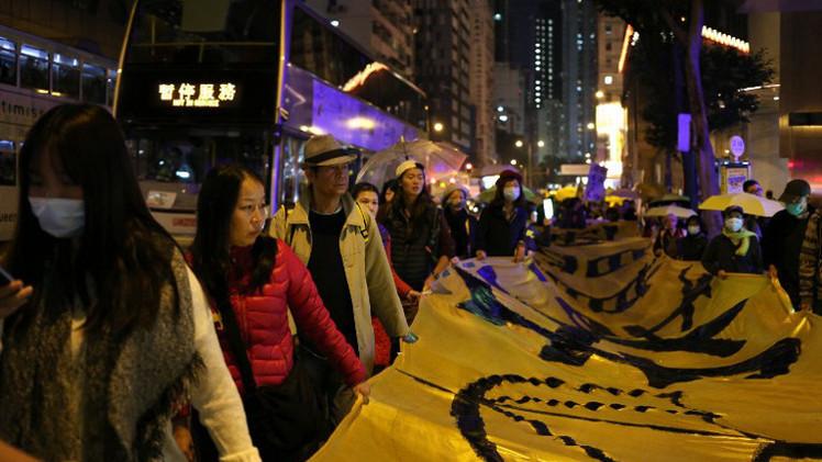 هونغ كونغ.. اعتقال نحو 40 متظاهرا مع تجدد الاحتجاجات (فيديو)
