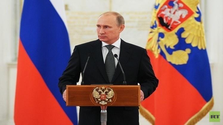 الرئيس الروسي شخصية العام 2014 عالميا حسب تصويت RT