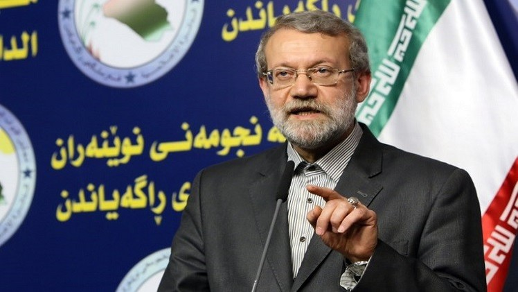 """لاريجاني: طهران تدعم سوريا والعراق في محاربة """"داعش"""""""