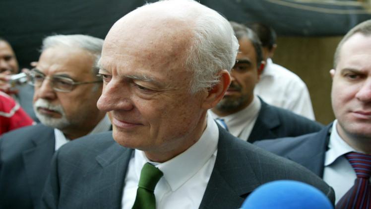 نائب المبعوث الأممي لسوريا: الاتصالات جارية لتطبيق خطة دي مستورا لحل الأزمة