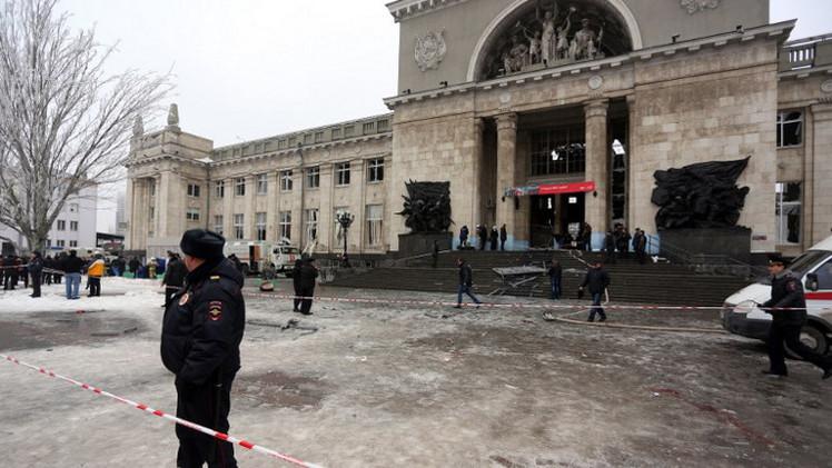 محطة السكك الحديدية في فولغوغراد
