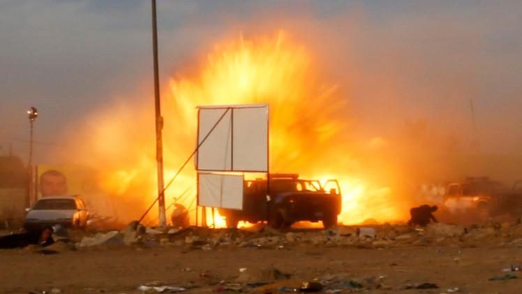 19 قتيلا وأكثر من 50 جريحا بتفجير انتحاري في بغداد