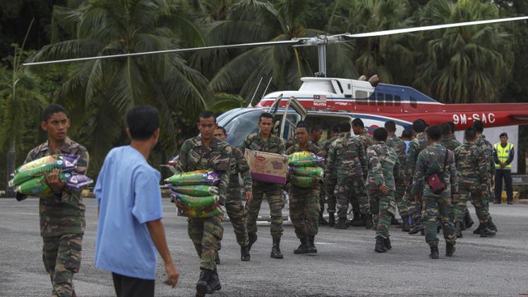 إعصار مدمر يضرب شمال ماليزيا ويشرد 1500من سكانها