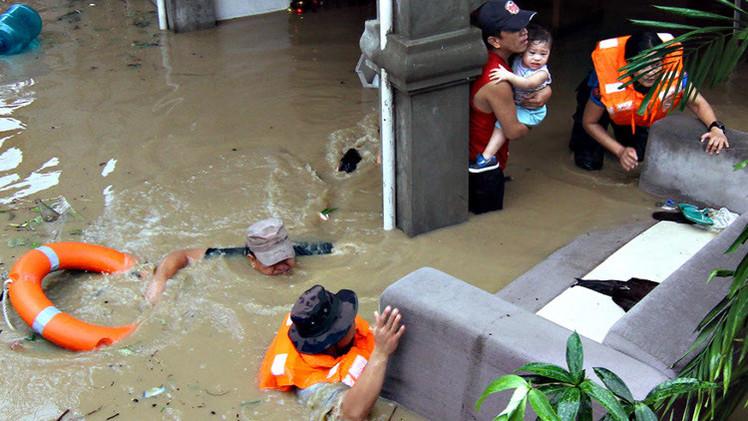 29 قتيلا جراء الفيضانات والانزلاقات في الفلبين