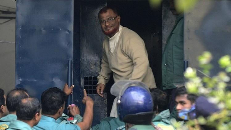 الإعدام لزعيم أكبر حزب إسلامي في بنغلاديش