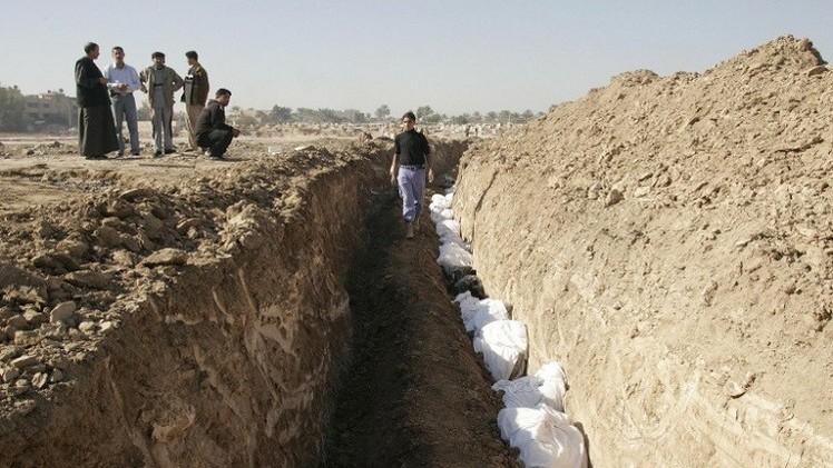 العراق.. العثور على 9 مقابر جماعية للضحايا الإيزيديين في سنجار