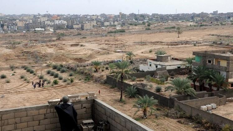 مصر توسع المنطقة العازلة على الحدود مع غزة إلى كيلومتر