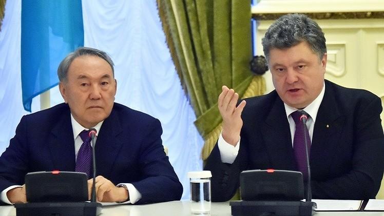 هولاند: بوتين لا يسعى الى ضم شرق أوكرانيا
