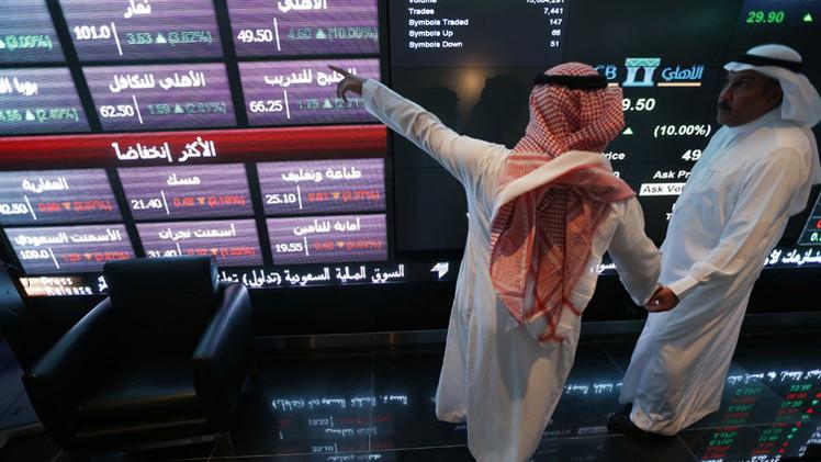 الأسهم السعودية تنخفض 5% في أخر جلسة تعاملات عام 2014