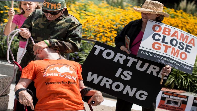 التعذيب في السجون الأمريكية واقع عراه تقرير الكونغرس