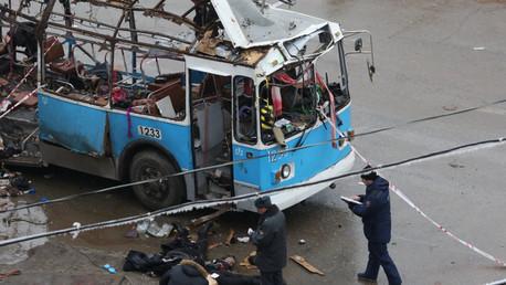 تفجير الحافلة الكهربائية في فولغوغراد