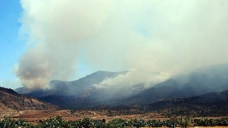 قصف جبال الشعانبي بالقصرين - تونس