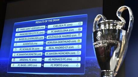 قرعة الدور الـ16 لدوري أبطال أوروبا لكرة القدم 2014