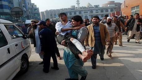 الهجوم على مدرسة في باكستان