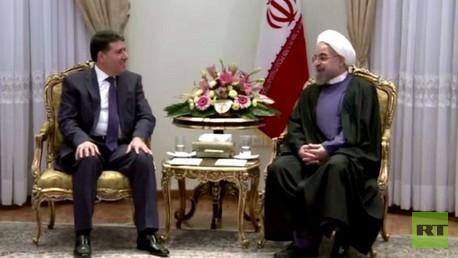 روحاني يلتقي الحلقي في طهران