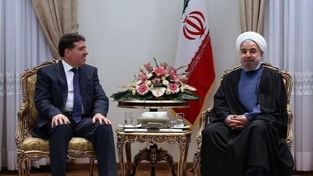 لقاء روحاني بالحلقي في طهران