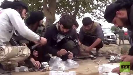 مقاتلي تنظيم الدولة الإسلامية
