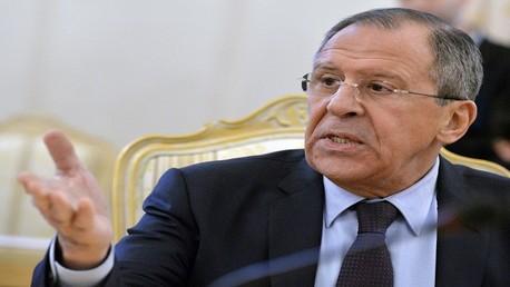 سيرغي لافروف - وزير الخارجية الروسي