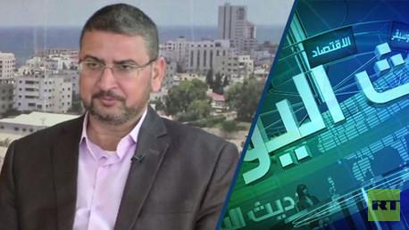 الناطق باسم حركة حماس سامي أبو زهري