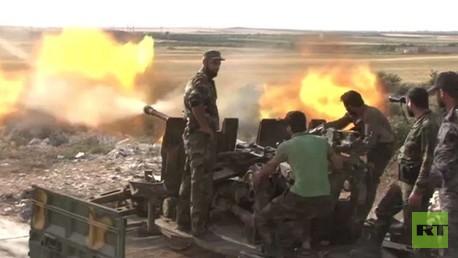الجيش السوري في شمال حلب
