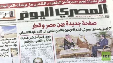 إعادة الدفء للعلاقات المصرية القطرية بوساطة سعودية