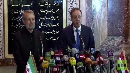 الحلقي ولاريجاني في دمشق