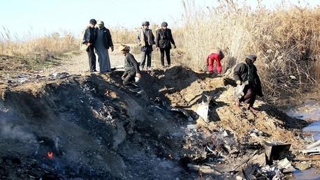 سقوط الطائرة الأردنية في الرقة