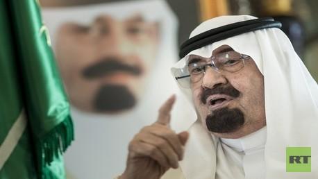 عبد الله بن عبد العزيز- العاهل السعودي